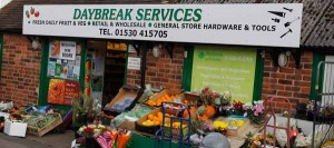 Daybreak Services Shop Front