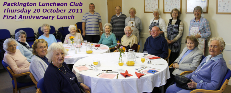 Packington Memorial Hall's Meeting Room view of Lunch Club