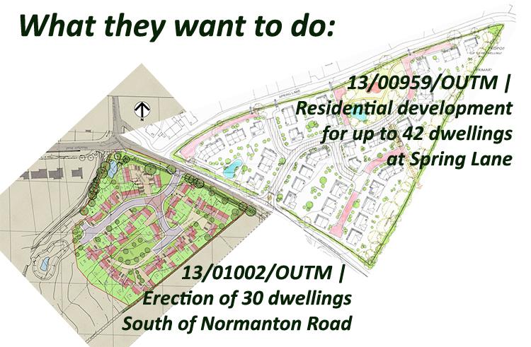 Application NtonRd SprLa Housing 72 houses 20150222